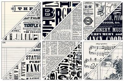 Newsprint Designer Series Paper