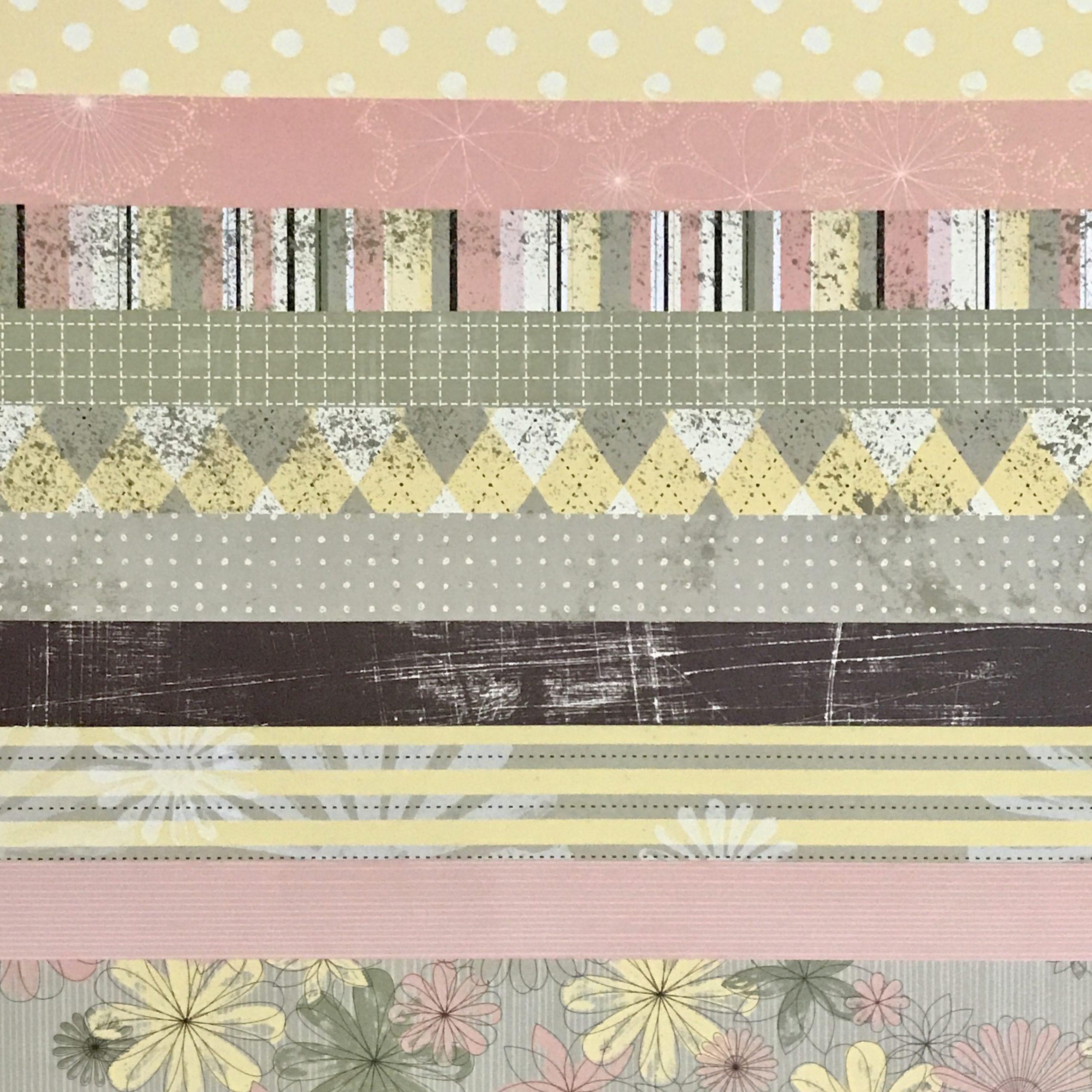 Spring Flowers Designer Series Paper
