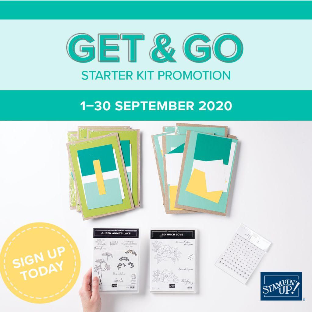 Get & Go Promotion Stampin' Up!