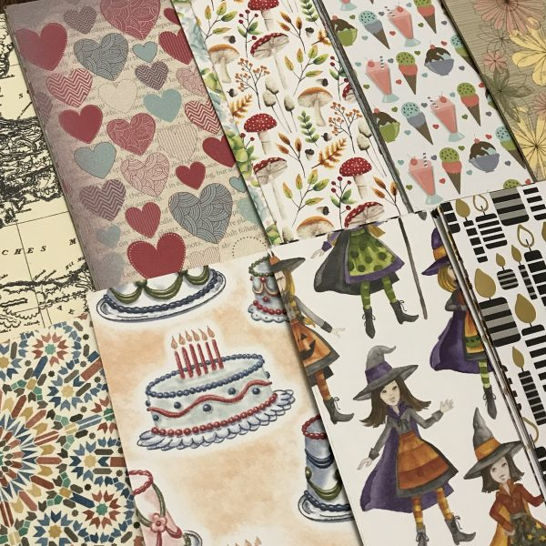 Retired Stampin' Up! Designer Series Paper