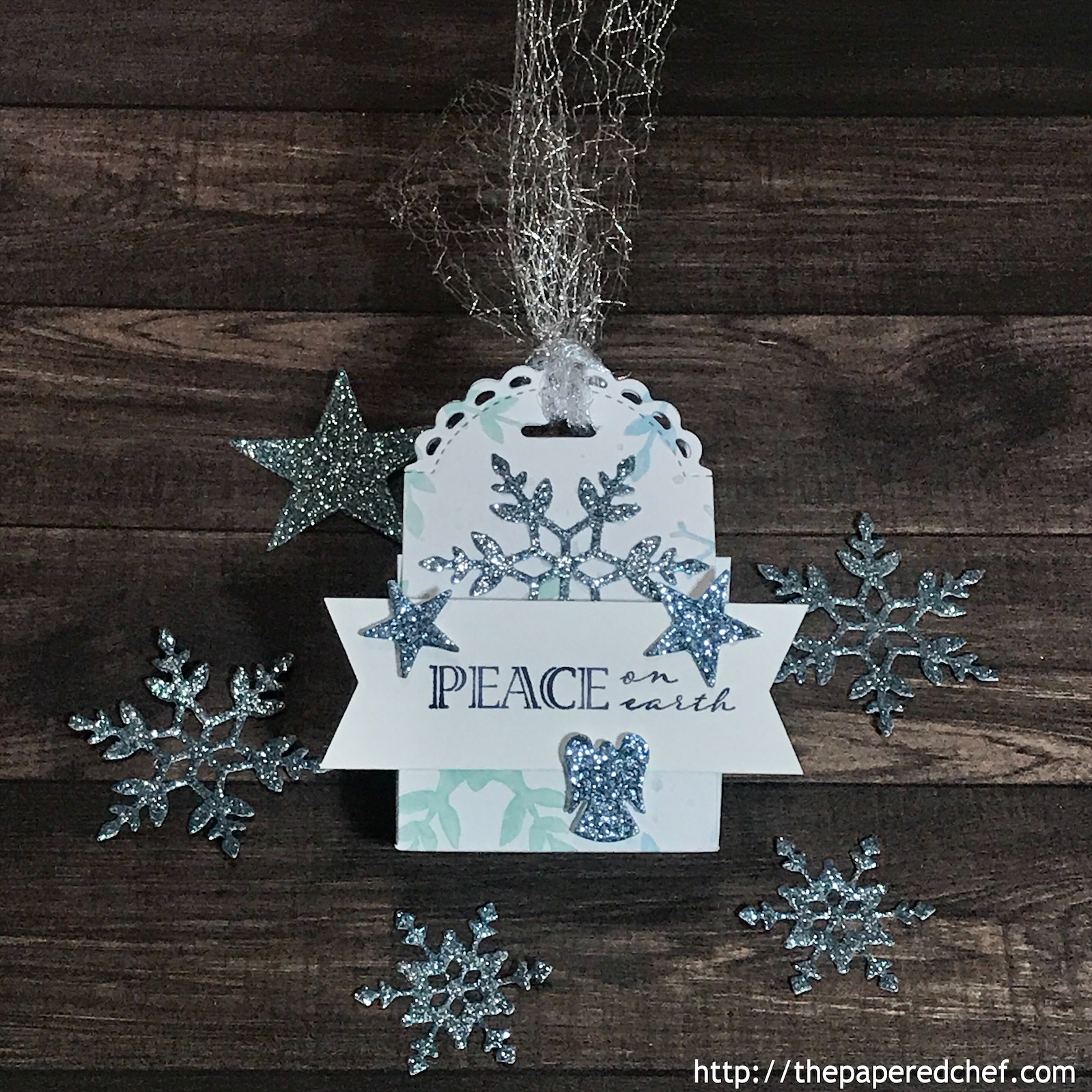 Snowflake Splendor Little Treat Box