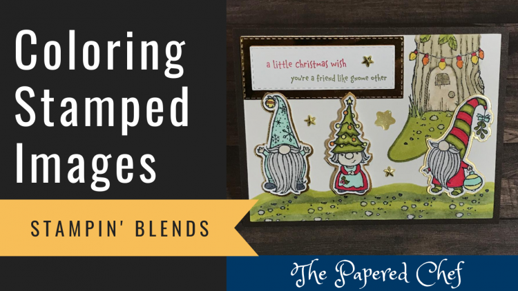 Stampin' Blends - Coloring Images - Gnomes