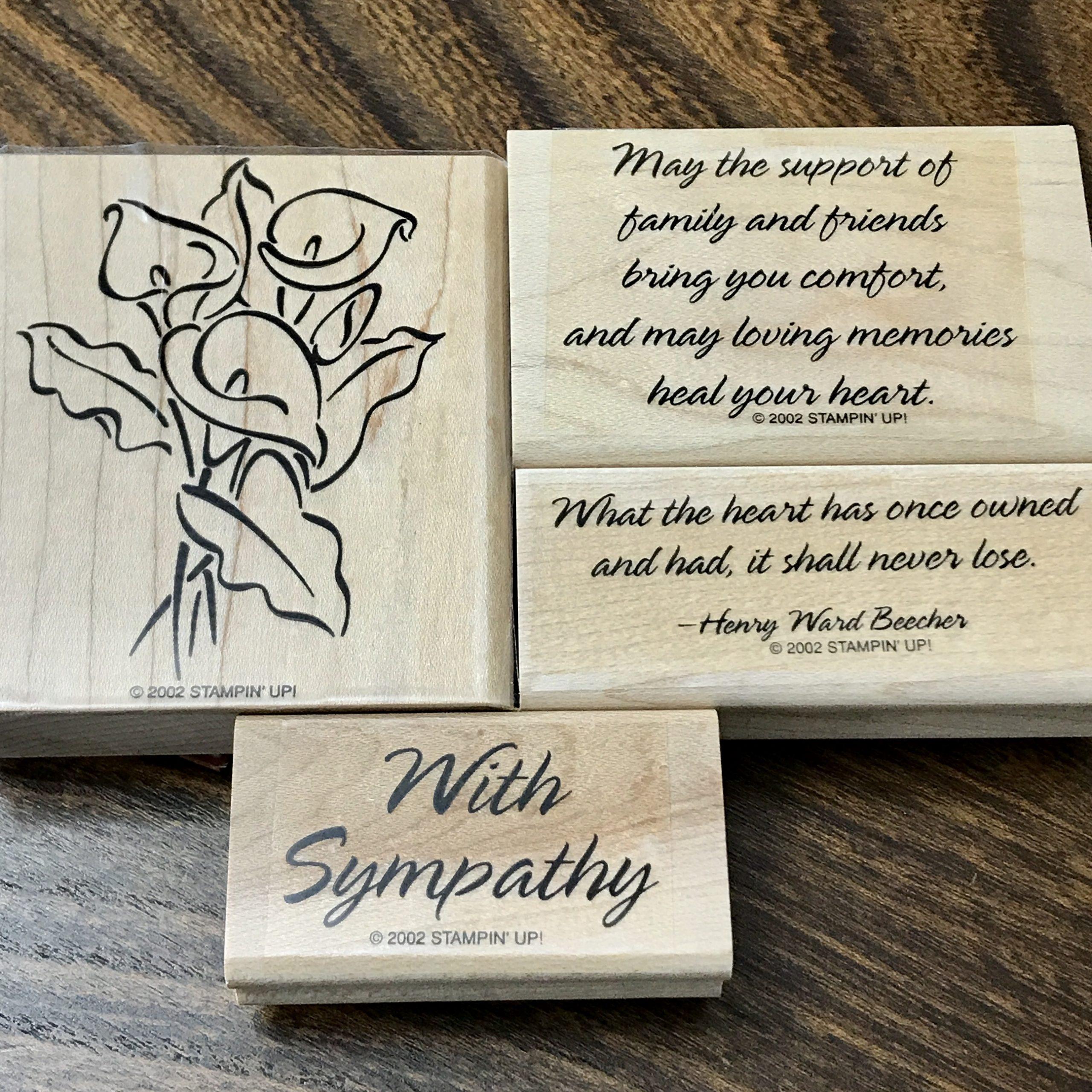 Loving Memories Stamp Set