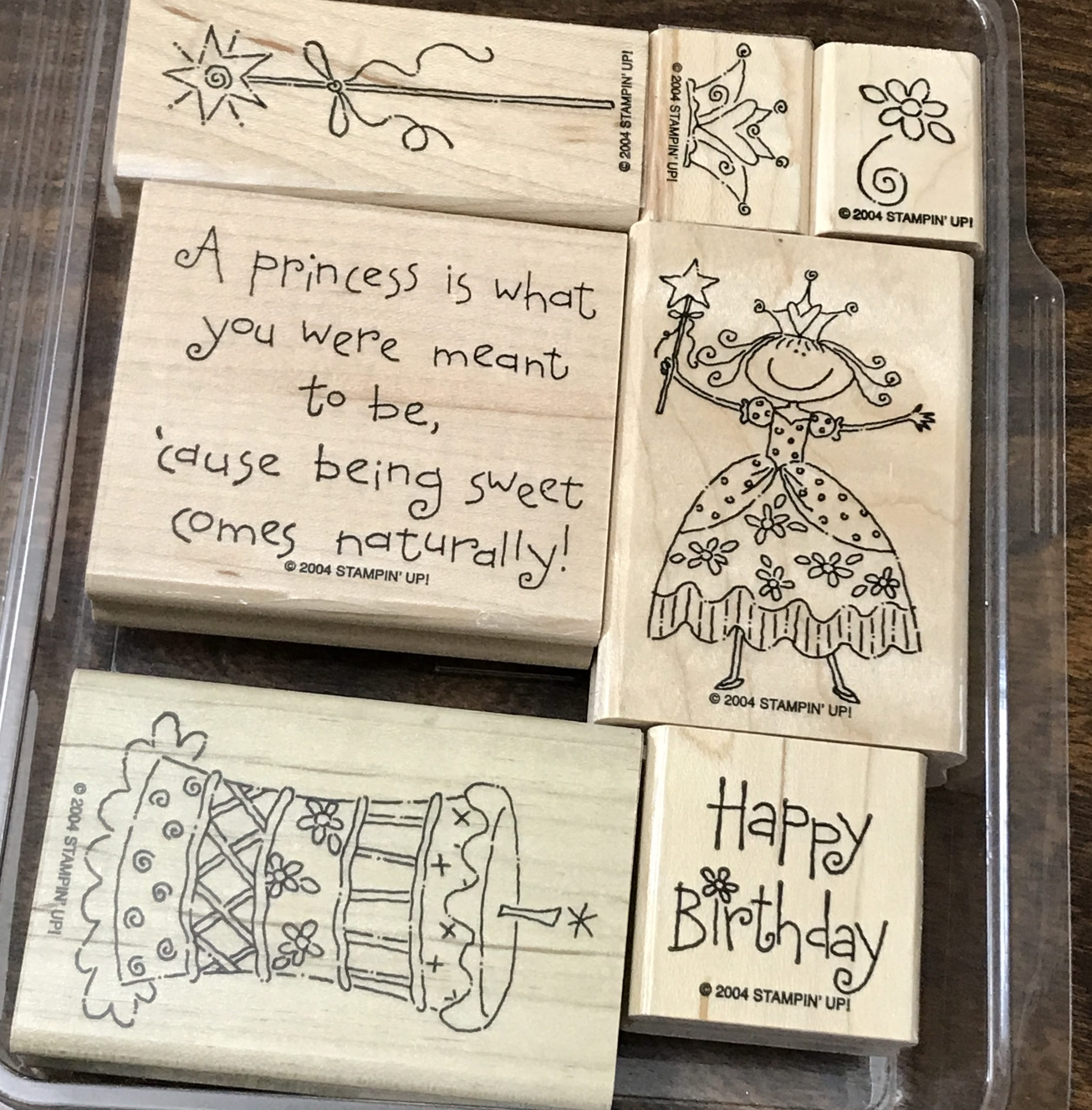 Pretty Princess Stamp Set