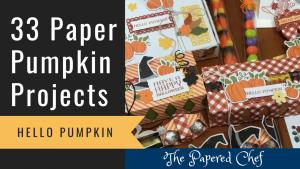 Paper Pumpkin Projects - Hello Pumpkin