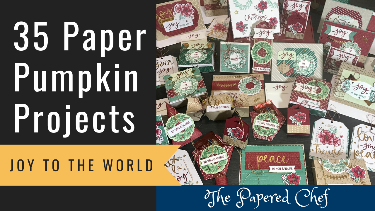 Paper Pumpkin - Joy to the World