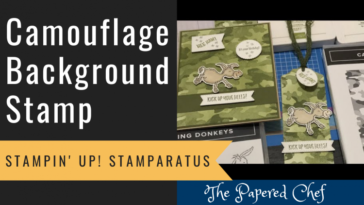 Background Stamp - Camouflage
