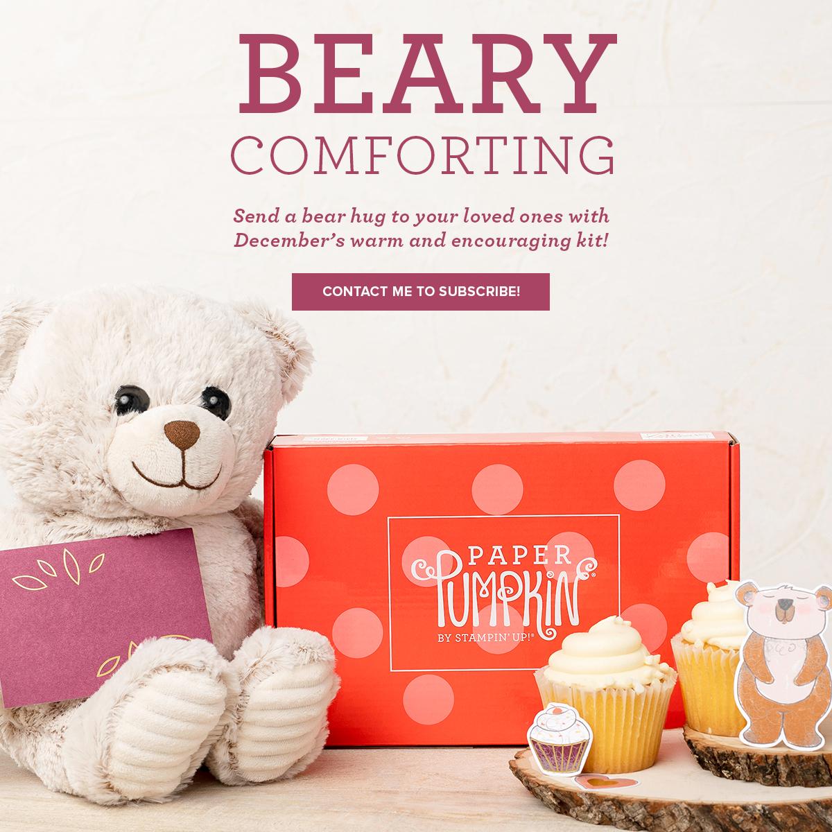 Bearing Comforting Paper Pumpkin Kit