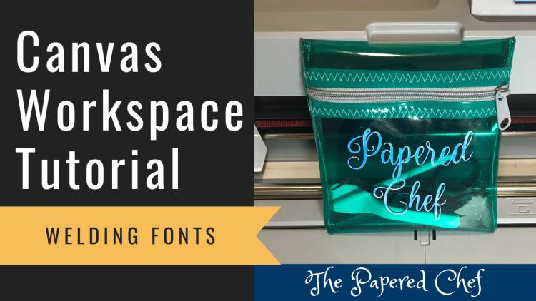 Canvas Workspace - Welding Fonts