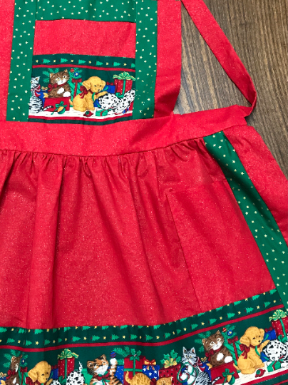 Cats & Dogs Shimmer Apron