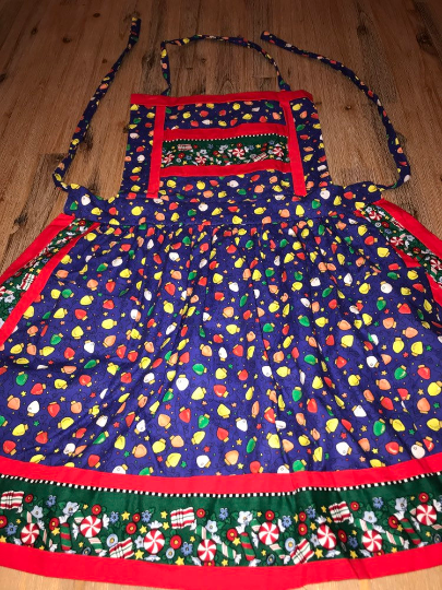 Christmas Lights Apron