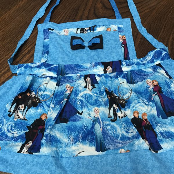 Frozen Apron with Bow