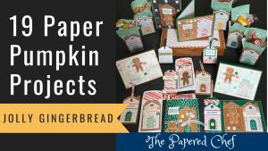 Paper Pumpkin - Jolly Gingerbread
