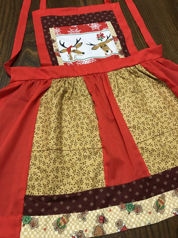 Reindeer Red Apron