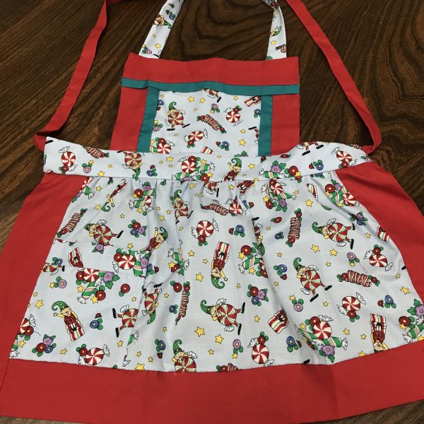 Small Peppermint Apron
