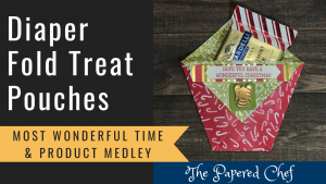 Diaper Fold Treat Pouches