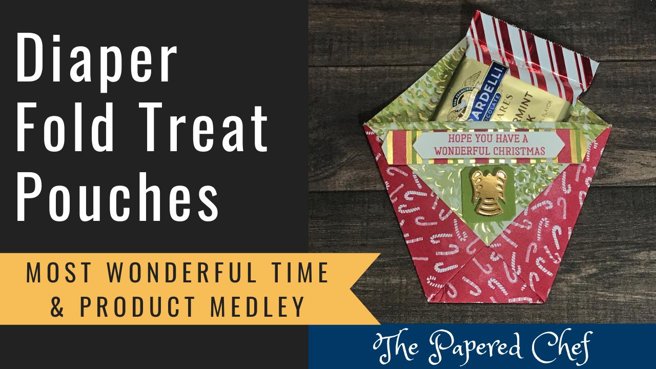 Diaper Fold Treat Pouches