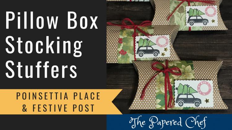 Pillow Box Stocking Stuffers