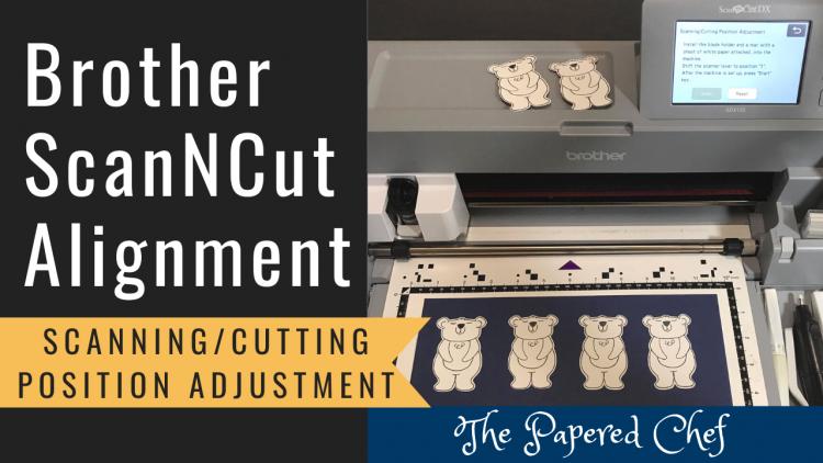 ScanNCut - Scanning_Cutting Position Adjustment
