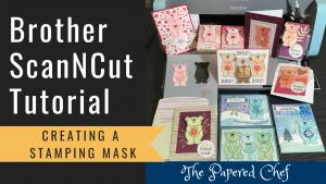 ScanNCut - Stamping Mask