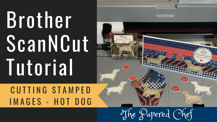 ScanNCut - Cutting Stamped Images - Hot Dog