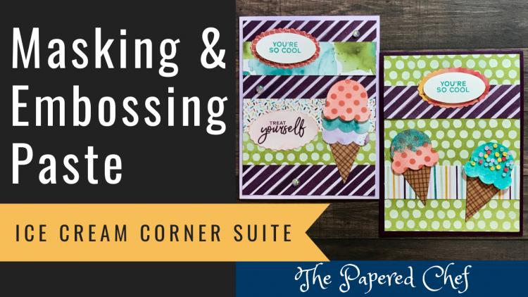 Ice Cream Corner - Embossing Paste
