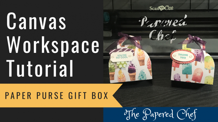 Canvas Workspace - Paper Purse