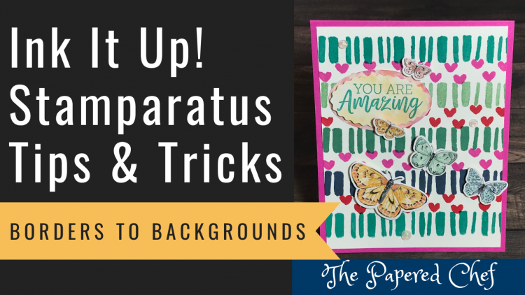 Stamparatus - Borders to Backgrounds - Stampin' Up!