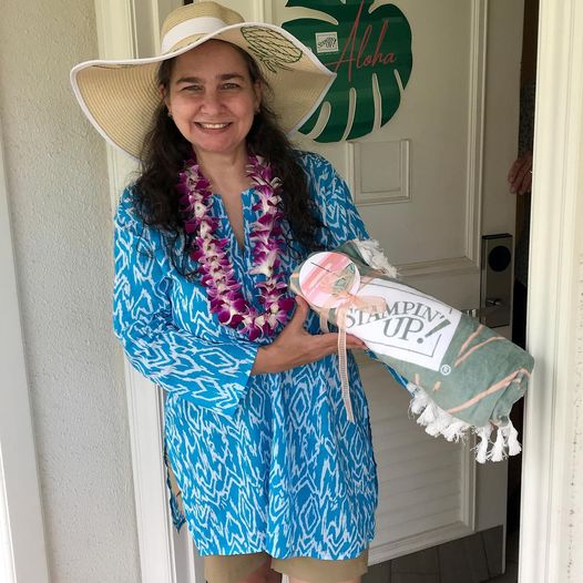 Kimberly Smith on the 2021 Stampin' Up! Incentive Trip to Maui, Hawaii