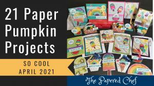 So Cool Paper Pumpkin - April 2021