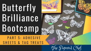 Butterfly Brilliance Bootcamp - Adhesive Sheets