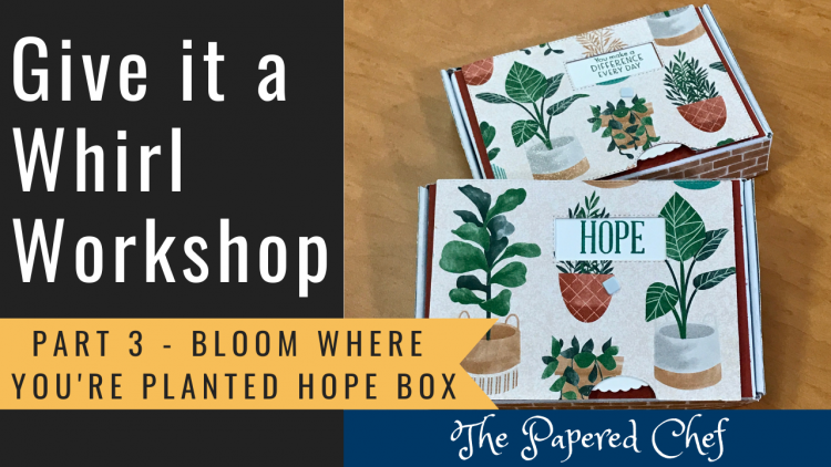 Give it a Whirl - Part 3 - Hope Box
