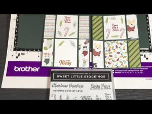 Infinity Cards - Sweet Little Stockings